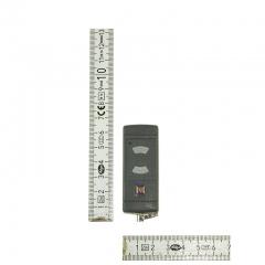Pilot-Hormann-mikronadajnik-HSE-2-40685-MHz-2-kanałowy-wymiary