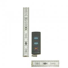 Pilot-Hormann-mikronadajnik-HSE-2-868-MHz-2-kanałowy-wymiary