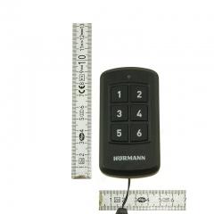 Nadajnik-przemysłowy-Hormann-HSI-6-BS-BiSecur-868-MHz-do-sterowania-max-6-odbiornikami-łącznie-z-baterią-przod-wymiary