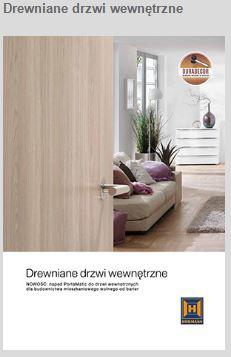 drewniane drzwi miniaturka